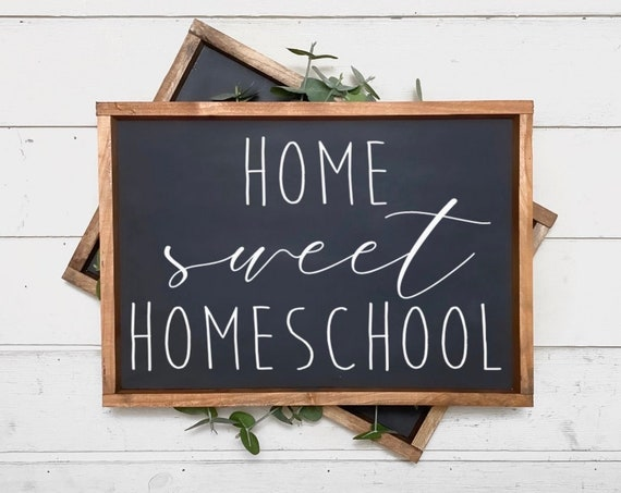 Home sweet homeschool