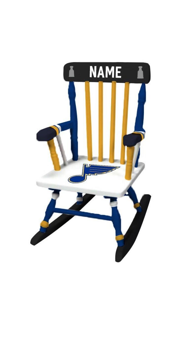 Sensational St Louis Blues St Louis Blues Chair Nhl T Hockey T St Louis Blues Nursery Stanley Cup Kids Alphanode Cool Chair Designs And Ideas Alphanodeonline