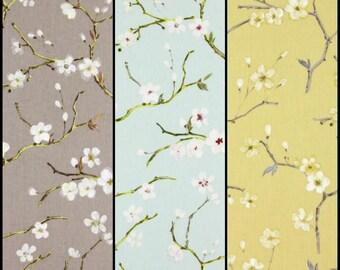 Sold per l metre  perfect Stock - Indigo Prestigious Textile Fabric Raindrops