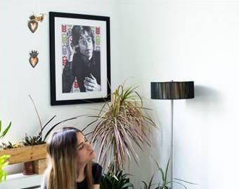 John Lennon Art, The Beatles Art, Vintage Poster, Poster Art, Wall Art, The Beatles, Rock and Roll, Fine Art, Painting, Musician Portrait