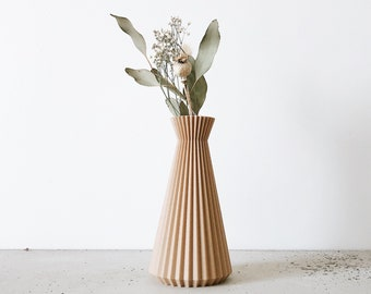 Origami Vase - Dry flowers - ISHI - Original gift for her !