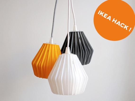 impreso de HACK diseño SuspensiónLampshadelámpara en 3DIKEA 1KFTlJc