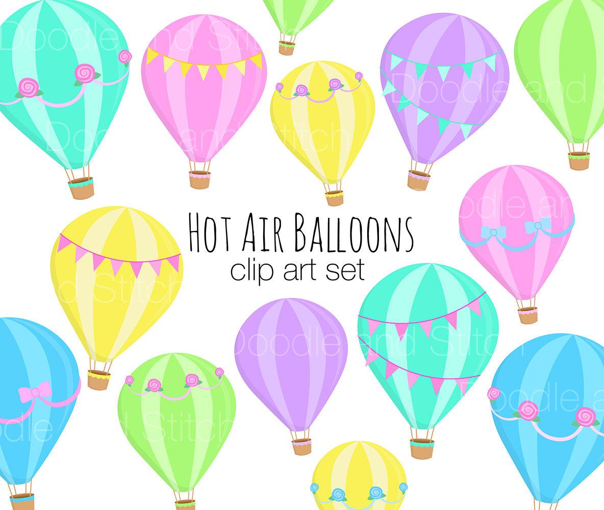 Hot Air Balloon Clipart Designs Pretty Balloon Clip Art ...