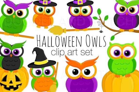 Halloween Eulen Clipart gruselige Eule ClipArt Bilder