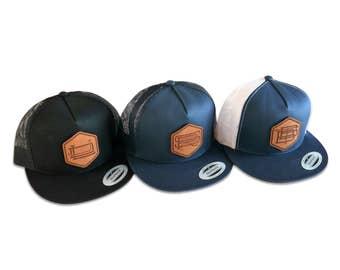 31e5b49483b Custom Monogrammed Groomsmen Hats Gift Package