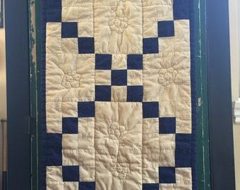 Admirable Quilted Table Runner Etsy Download Free Architecture Designs Xaembritishbridgeorg