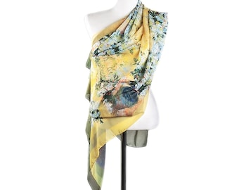 Landscape with Dog Impressionism Petite Scarf100/% CottonGift for Her Paul Guaguin 23 Large  Handkerchief Bandana Combo for T Shirt/'s