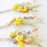 The boutonniere, a Bridal bouquet groom's, natural material, dried plants, bouquet, flower brooch, wedding decor