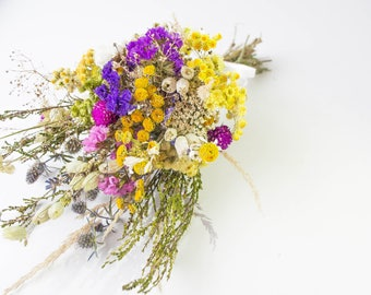 Bridal bouquet, summer bouquet, village wedding, field bouquet, wedding accessory