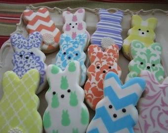 Easter Bunny cookies 12ct
