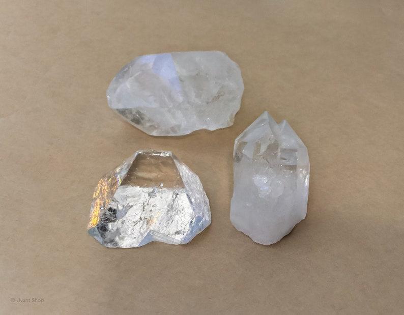Apophylite Crystal Pyramids  crystal pyramids for altars image 0