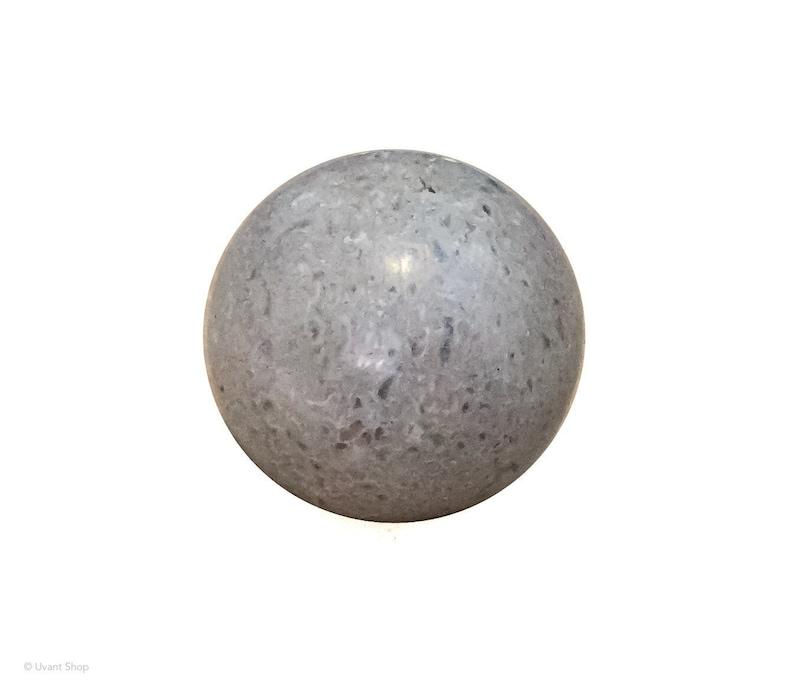 Beige Jasper Stone Ball  jasper crystal ball medium size image 0