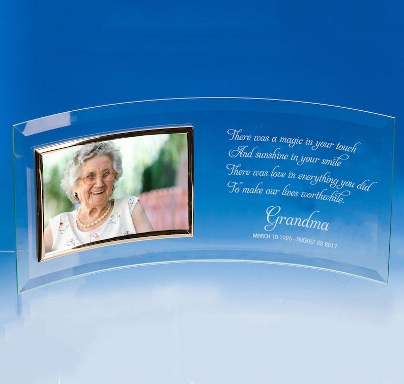 Grandma In Memory Personalised Picture Frame In Loving Memory Frame Memorial Gift Sympathy Gift Bereavement Gift Granny Remembrance