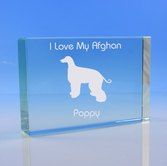 Afghan Hound Dog Lover Gift Personalised Hand Engraved Highball Glass Gift