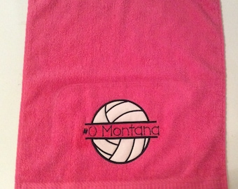 Applique hand towel etsy