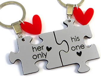 Puzzle Keychain - Set of 2 5bace6da68
