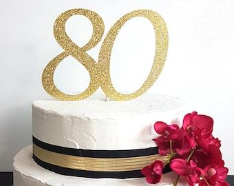 Number Cake Topper, Age Cake topper, Birthday Cake Topper, Anniversary Cake Topper