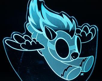 Spitfire My Little Pony LED Light Display