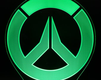 Overwatch Emblem-LED-Licht-Display