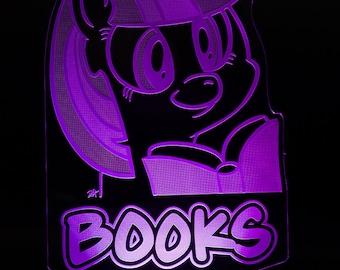 Twilight Sparkle Bücher mein kleines Pony LED-Licht-Display