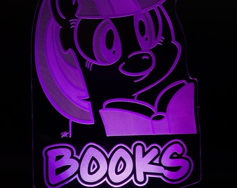 Twilight Sparkle Books My Little Pony LED Light Display