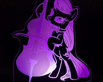 Octavia My Little Pony-LED-Licht-display