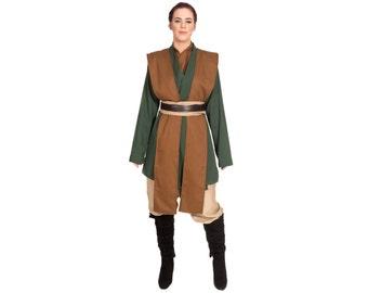 Star Wars Costume, Star Wars Tunic, BECOME your own JEDI, Custom Star Wars Costume, Adult Jedi Star Wars Cosplay Mara Jade Tunic Costumes