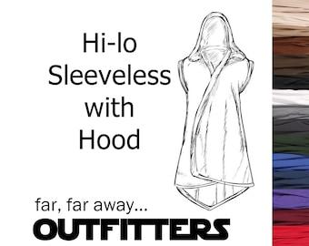 Star Wars Costume, Star Wars Tank Tunic, BECOME your own JEDI, Custom Sith Costume, A La Carte Tunic, Adult Jedi Cosplay Sleeveless Tunic