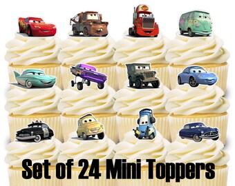 Cars Pixar Cake Decoration Party Supplies Birthday Birthday Cupcake
