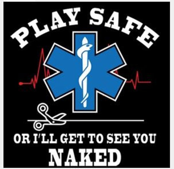 Play Safe Or I'll See You Naked Funny Ems Unisex Baseball