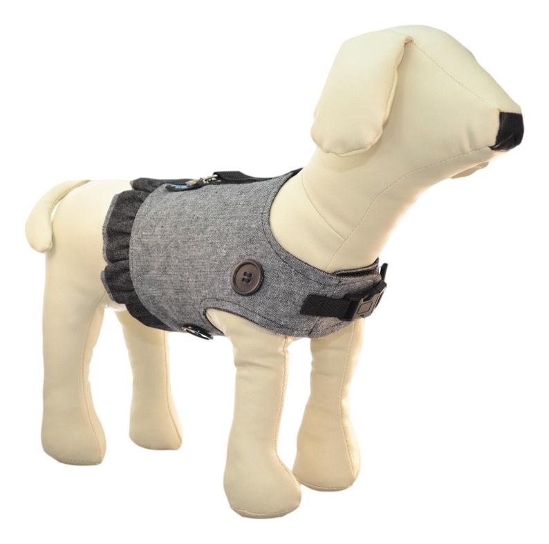 Handmade Dog Harness w/ Ruffle Skirt for Interchangeable & image 0