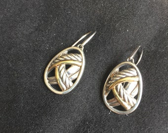 David Yurman Papryus earrings