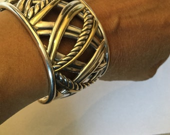 David Yurman wide Papryus bracelet