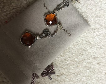 David Yurman Citrine earrings
