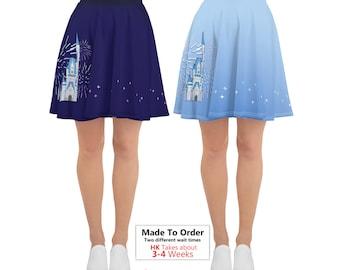 Magic Kingdom Inspired Skirt / Disney Skirt / Cinderella's Castle Skirt / Wishes / Disney Fireworks / Disney World Inspired Skirt