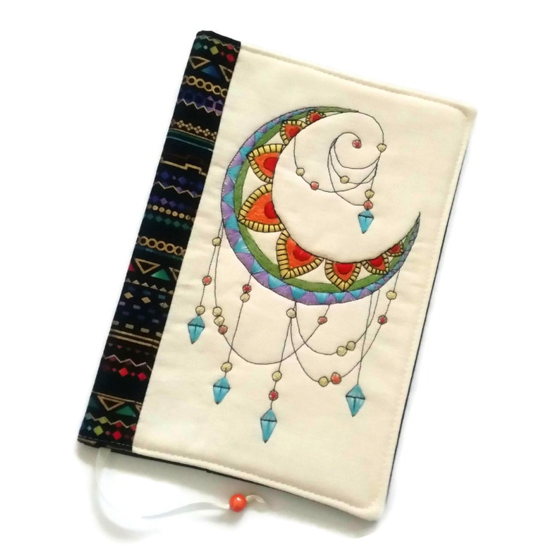 Mandala Book Cover Spiritual Book Sleeve Happy Travelers image 0