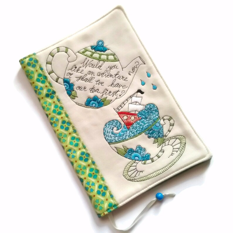 Adventure A5 Travel Journal Fabric Book Cover Diary Cover image 0