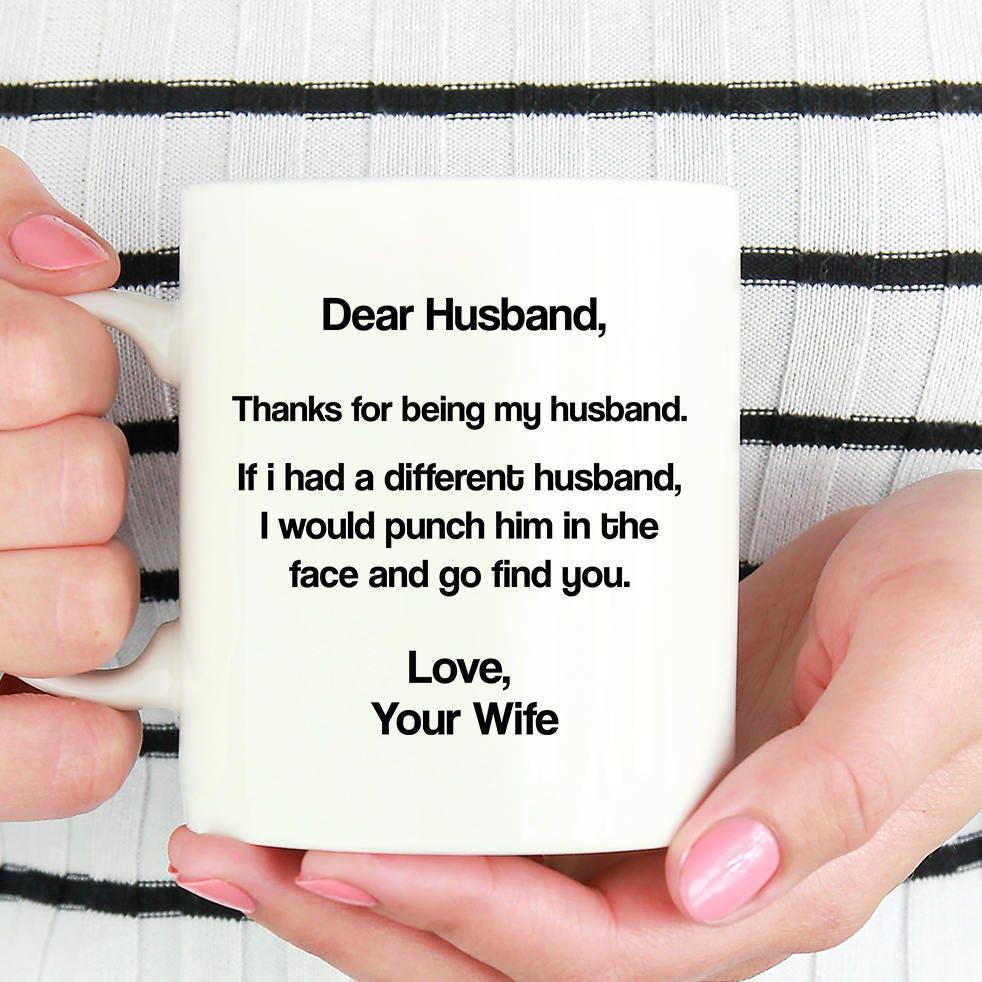 Lieber Mann danke dass mein Mann lieben Ihre Frau Mann | Etsy