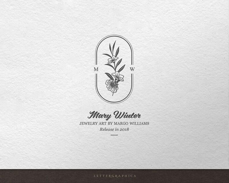 Photographer Logo Logo Design Floral logo Nature logo image 0