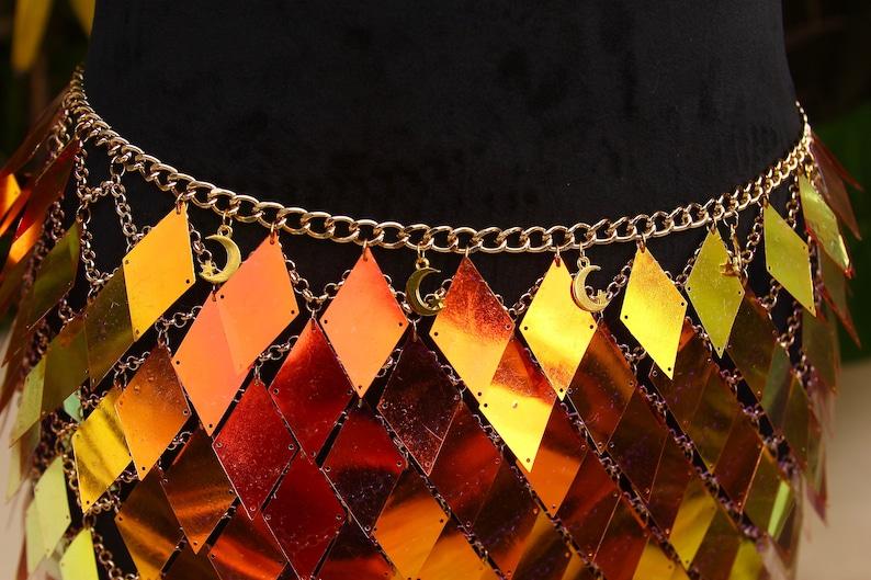 Firey Scales Chain Set