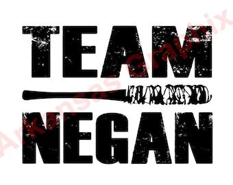 "The Walking Dead ""Team Negan"" Decal 4""-9"""