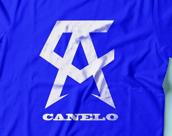 Saul Canelo Alvarez Boxing Youth Shirts XS-XL Available Order By October 27th for Guaranteed Delivery By Fight Night