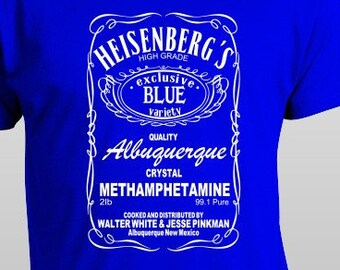 Heisenberg Breaking Bad T-Shirt S-4XL And Long Sleeve Available