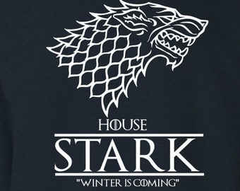 "House Stark ""Winter is Coming"" Game of Thrones Sweater S-4XL"
