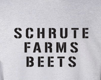 Schrute Farms Beets from The Office TV Show Sweater S-3XL Available