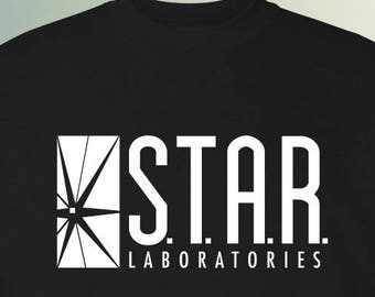 STAR Laboratories TV Show Sweater S-2XL Available STAR Labs The Flash