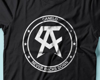 Saul Canelo Alvarez WALKOUT Boxing Youth Shirts 2T-XL Available Order By September 10th for Guaranteed Delivery By Fight Night