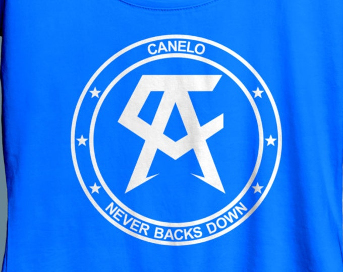 Featured listing image: Saul Canelo Alvarez  WALKOUT Women's Boxing Shirt Crew & Vneck Available S-XXL Order By September 10th for Guaranteed Delivery By FightNight