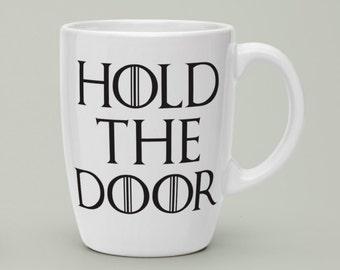 """Game of Thrones Decals Hold The Door 4""""-9"""""""