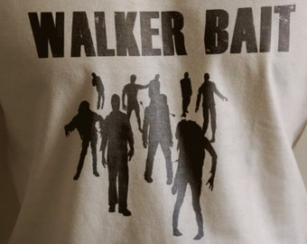 "The Walking Dead ""WALKER BAIT""  Shirt S-4XL Available TWD"